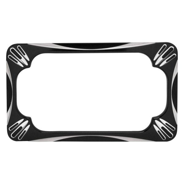 Arlen Ness 12-159 Black License Plate Frame