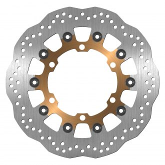 For Yamaha FJR 1300 ABS 03-15 12 13 14 2x Stainless Steel Front Brake Disc Rotor