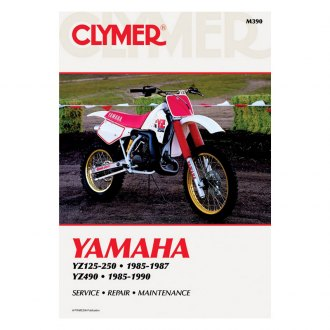 Yamaha Yz250 Repair Manuals Exhaust Engine Body Motorcycleid Com