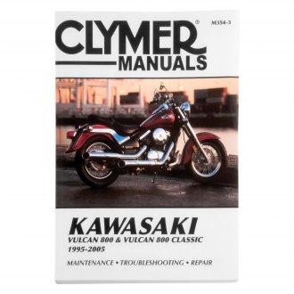 Kawasaki Vulcan 800 Classic Repair Manuals Exhaust Engine Body Motorcycleid Com