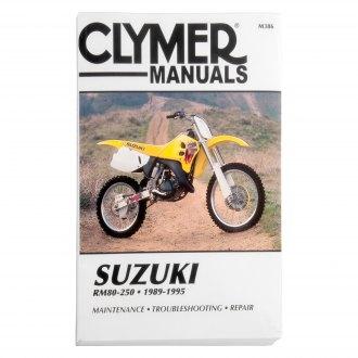 Suzuki Rm250 Repair Manuals Exhaust Engine Body Motorcycleid Com