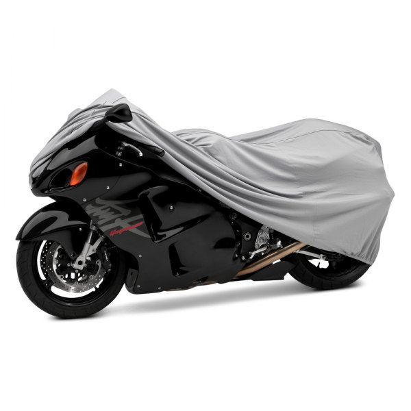 Covercraft® - Gray Form-Fit™ Charcoal Gray Motorcycle Cover