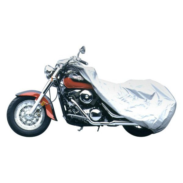 Covercraft® - Silver Ready-Fit™ Deluxe Motorcycle Cover