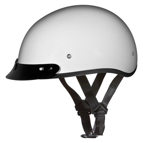 Daytona Helmets® - Skull Cap Solid Half Shell Helmet with Visor