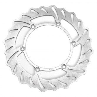 ATK Motorcycle Brake Rotors | Front, Floating, Chrome
