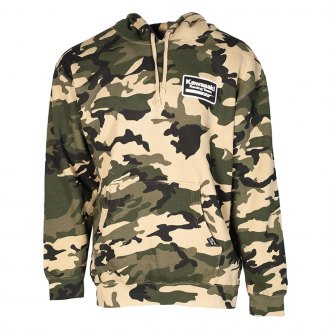 Official Honda Printed Logo Camo Pullover Hoodie Heavyweight Fleece Sweatshirt