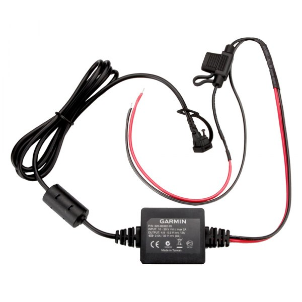 Garmin® - Motorcycle Power Cable for zumo™ 396LMT-S Navigator