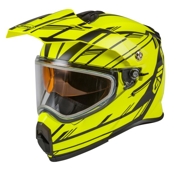 GMAX® - At-21S Epic Dual Sport Snow Helmet with Double Lens Shield