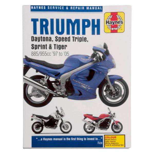 Triumph Tiger 1997 Manual