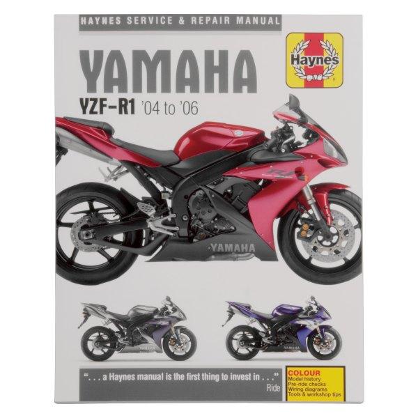 2006 yamaha r1 wiring diagram haynes manuals   m4605 yamaha yzf r1 2004 2006 repair manual  yamaha yzf r1 2004 2006 repair manual