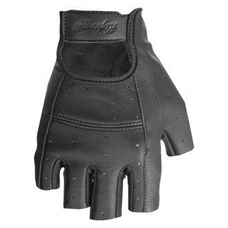 First Manufacturing Mens Lightweight Leather Fingerless Riding Gloves FI160GL