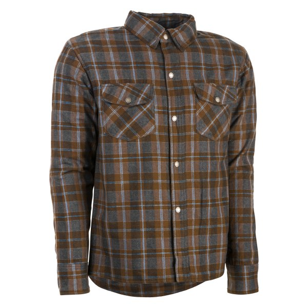 Highway 21® - Marksman Men's Shirt (Medium, Brown/Tan)