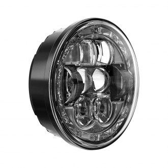 SINGLE Delta 01-1139-12XH 5-3//4 Slim 500 5 3//4 Xenon Headlight with HALO