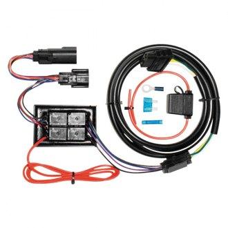 harley davidson flhx street glide trailer hitch wiringkhrome werks® plug and play isolator kit