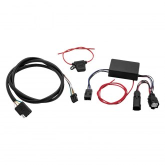 Khrome Werks Plug Play Trailer Wiring Harness Kit For Harley Touring on