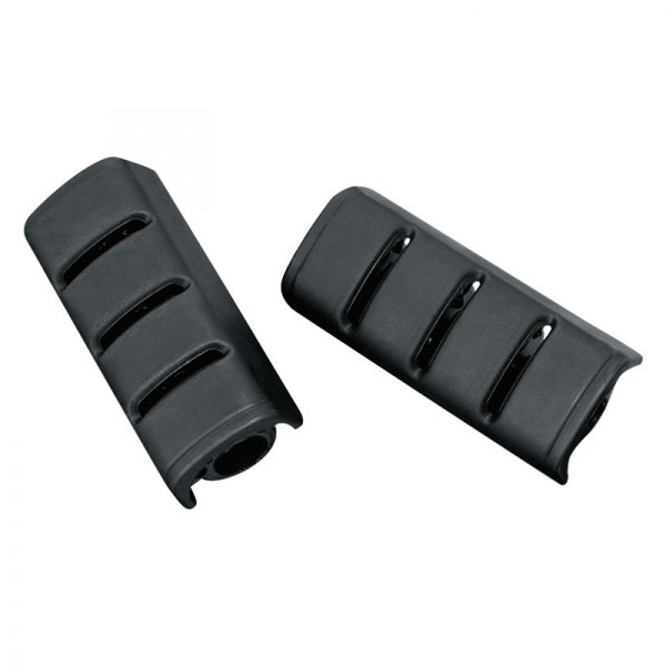 Black Replacement Rubber Pads for Dually ISO Pegs Kuryakyn 8023 Motorcycle Footpeg Components