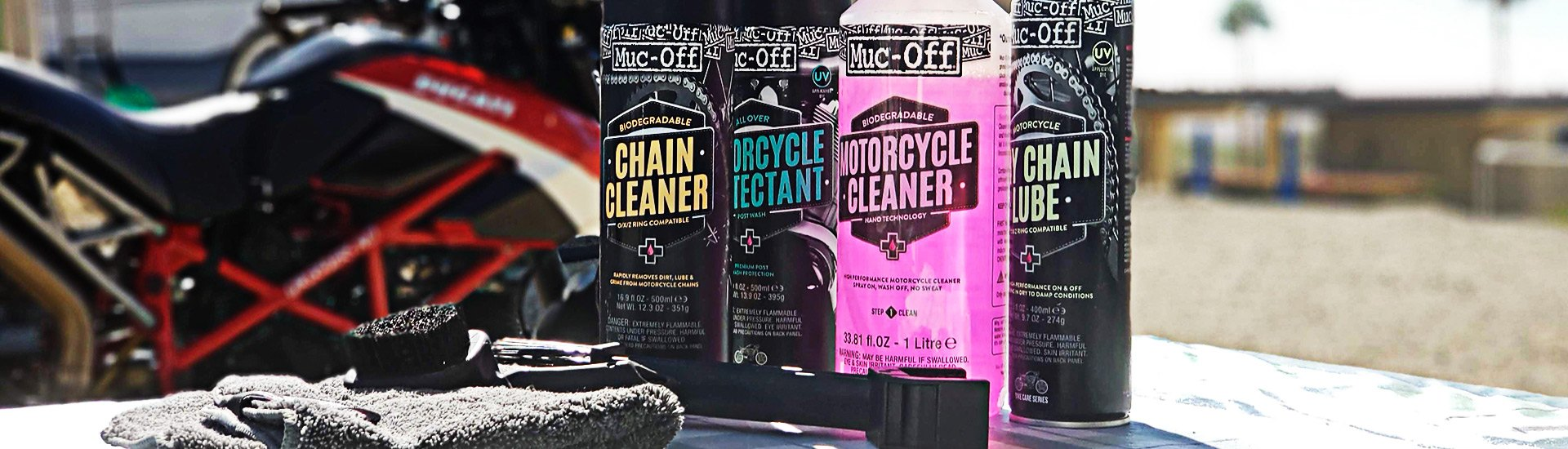 Motorcycle Oils & Chemicals