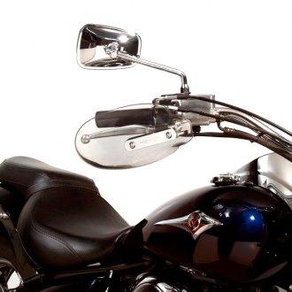 Alpha Rider Cold Wind Mirror Smoke Hand Guards Protector Windshield Deflectors For Kawasaki Vulcan 88 500 1500 1600 1700 2000