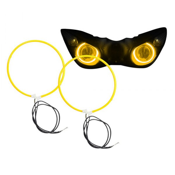 Oracle Lighting® - CCFL Amber Halo Kit for Headlights
