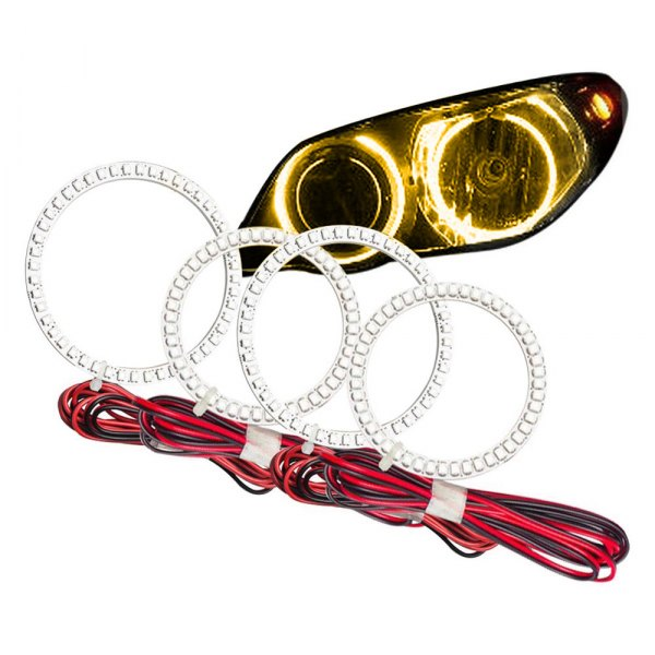Oracle Lighting® - SMD Amber Dual Halo kit for Headlights