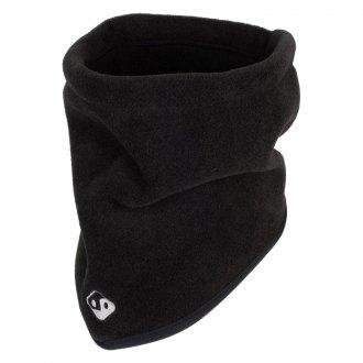 black hi-vis TrailHeads Fleece Neck Warmer//Gaiter