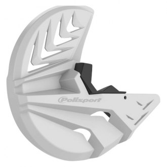 8391000001 WHITE POLISPORT FRONT DISC COVER