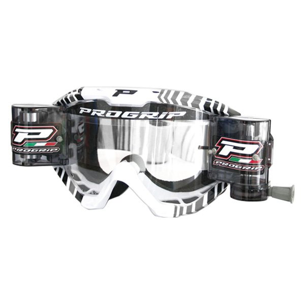 Pro Grip® - 3458 Series Extra Large Goggles (Large, Gray/White/Black)