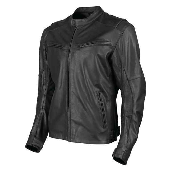 Speed and Strength® - Dark Horse™ Men's Leather Jacket (Small, Black)