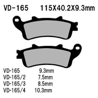 Details about  /Sintered Brake Pads~2003 Honda VFR800 Interceptor Emgo 91-68006