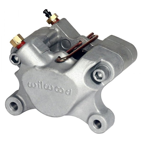 Wilwood® - Dynalite Single III Aluminum Clear Anodize Brake Caliper
