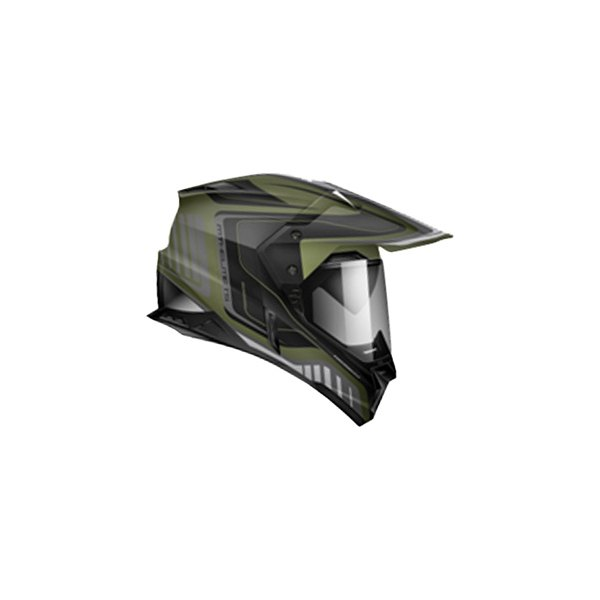 Zoan Helmets® - Synchrony Tourer Graphic Dual Sport Snow Helmet with Double Lens Shield